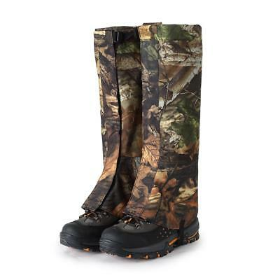 1 Pair XL Outdoor Hiking Hunting Snow Snake Waterproof Boots Legging Gaiters