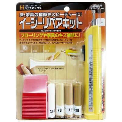 Easy Repair Kit -Furniture, Table, Chair, Wood Scraches Nick Fix [Light color]