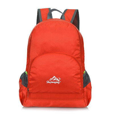 20L Lightweight Sport Foldable Travel Backpack Hiking Camping Daypack Red