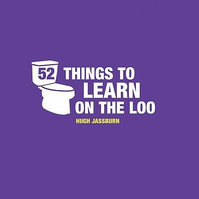 52 Things To Learn On The Loo Humour Book Fun Gag Secret Santa Stocking Filler