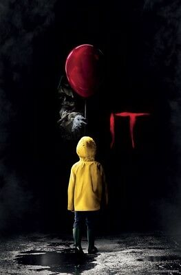 IT MOVIE - TEASER POSTER - 22x34 - PENNYWISE CLOWN KING 16335