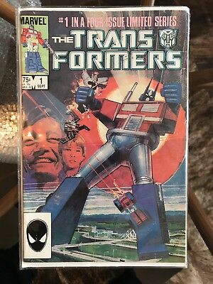 Transformers marvel Comic Issue #1