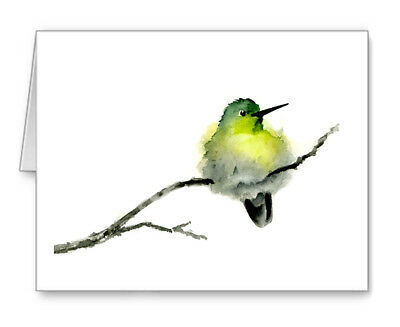 Hummingbird Note Cards With Envelopes