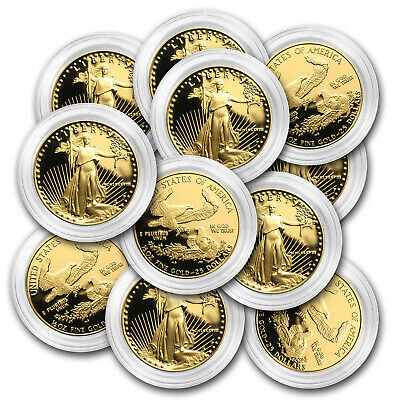 1/2 oz Proof Gold American Eagle (Random, Capsule Only) - SKU #32755