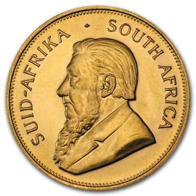 South Africa 1 oz Gold Krugerrand (Random Year) - SKU #62