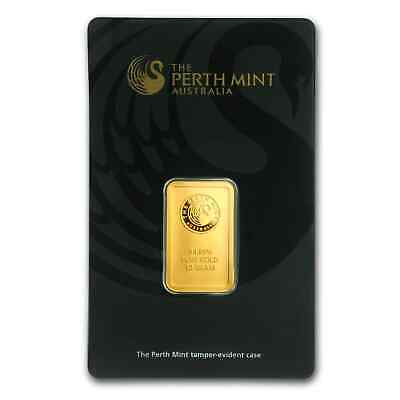 10 gram Gold Bar - Perth Mint (In Assay) - SKU #57162