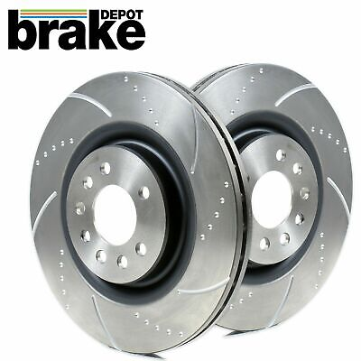 Corsa E VXR Brake Discs Front Dimpled Grooved 330mm Brembo Caliper Fitment
