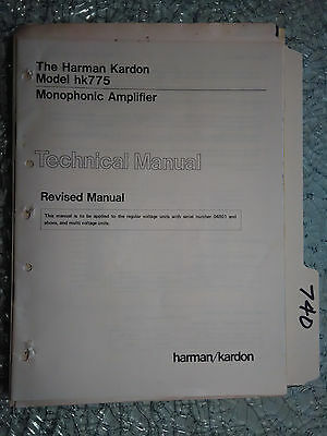 Harman kardon hk 730 service manual