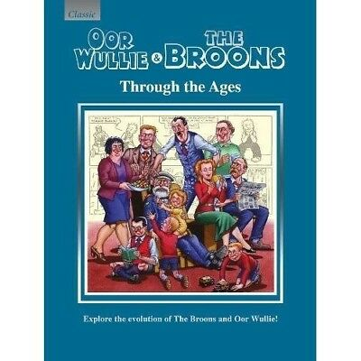 Oor Wullie & The Broons Through the Ages Annual 2018 NEW Hardback Book Gift Scot
