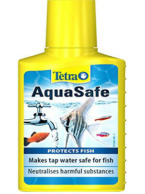 Tetra AquaSafe Fish Tank Tap Water Conditioner 100ml