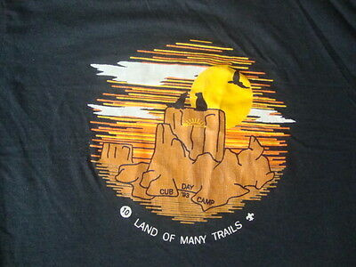 Vintage 90's Boy Scouts Of America BSA 1993 Cub Day Camp T shirt Adult size M