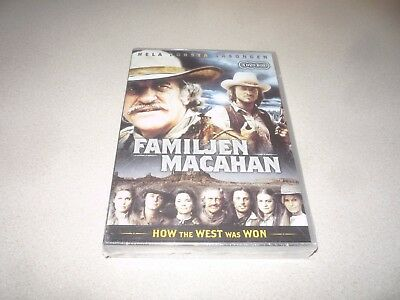 How The West Was Won :  Season 1 Dvd Box Set - Brand New And Sealed 4 Disc Set