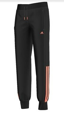 adidas performance essentials girls climalite pants joggers BNWT AK2085  free de