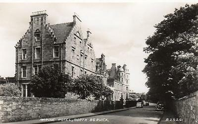 Marine Hotel North Berwick unused  RP pc Valentines
