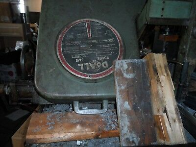 Doall Band Saw  It Does Cut Variable Speed Its All Clutered Up Its A Good One