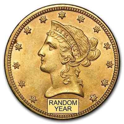 $10 Liberty Gold Eagle BU (Random Year) - SKU #98270