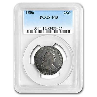 1806 Draped Bust Quarter Fine-15 PCGS - SKU #150171