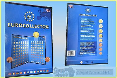 Europe - Collection of Euro Coins From 1 Cent. to 2 Euro from 12 Countries.