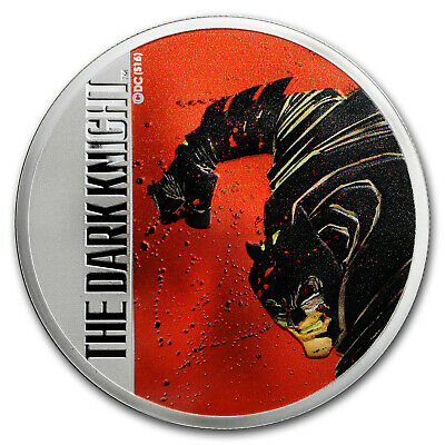 2016 Fiji 2 oz Proof Silver Batman: The Dark Knight Returns - SKU #104212