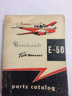 C-45H EXPEDITOR TWIN Beech Model D18S Illustrated Parts Catalog on
