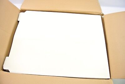 50ct 17 x 21 No Bend Mailers White Self Seal Photo Document Flat Rigid Envelope