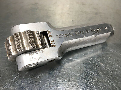 "Schmidt 1/8"" Numbering Head, 6 Wheel, Manual Steel Stamp Marking, 4233-56-D1"