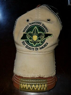 Scout Hat - BSA Boy Scouts of America  Size M/L Middle Tennessee Council MTC