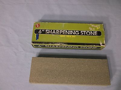 """Sharpening Stone 6"""" X 2"""" X 1"""" Aluminum Oxide Material - 120 & 240 Grit"""