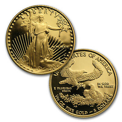 1/10 oz Proof Gold American Eagle (Random Year, Capsule Only) - SKU #35500