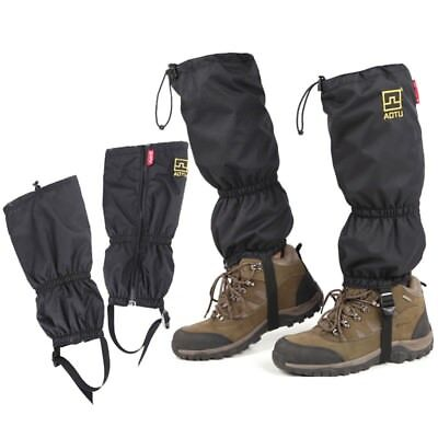 Newly Unisex Gaiters Outdoor Climbing Waterproof Shoes Cover High Snow Legging