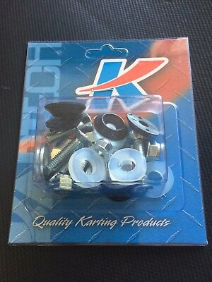 Go Kart - Floor Tray Bolt Kit Incl Nuts Bolts Washers - NEW