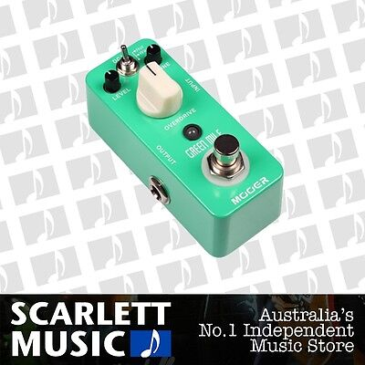 Mooer Green Mile Overdrive Effects Pedal *BRAND NEW*