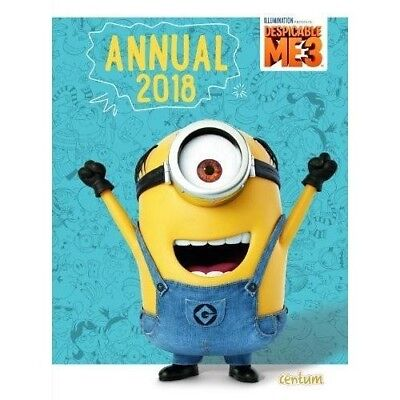 Despicable Me 3 Annual 2018 NEW Hardback Book 1911460664 Childrens Minions Kids