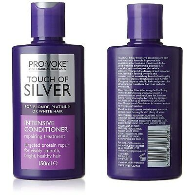 Touch of Silver Intensive Treatment Conditioner 150ml For Blonde Grey White Hair