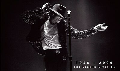 King of Pop - Michael Jackson Music Art High Quality wall Art poster Choose Size