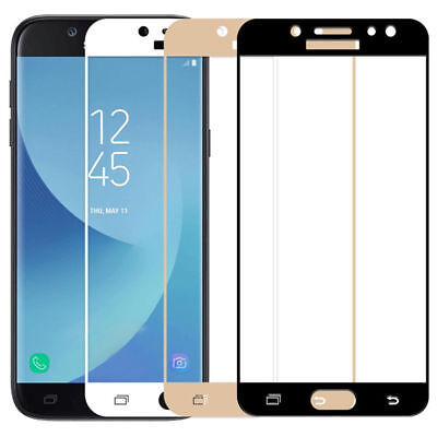Full Cover Tempered Glass Screen Protector For Samsung Galaxy J3 J5 J7 Pro Prime