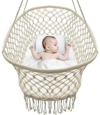 Hanging Bassinet Portable Swing Baby Nursery Crib Cradle Durable Quality Rope