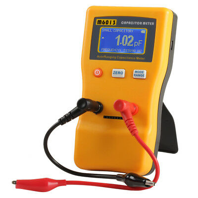M6013 Digital LCD Capacitor Capacitance Tester Meter Auto Ranging Multimeter