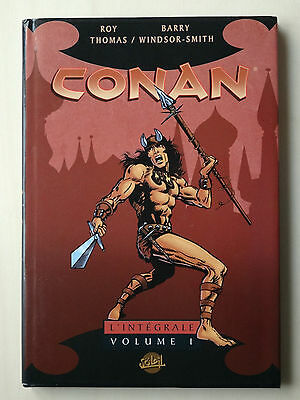 COMICS  INTEGRALE conan volume 1 EO roy thomas TBETAT (AI5 GE34)