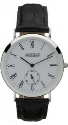 Jean Pierre Of Switzerland Gents Sterling Silver Watch