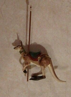 "2008 Hallmark Keepsake Ornament ""happy Kangaroo""  Carousel Ride Special Edition"