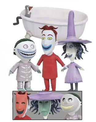 Nightmare Before Christmas Select Serie 3 Actionfigur: Lock, Shock and Barrel