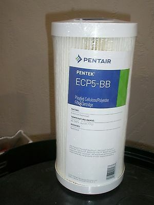 ECP5-BB 5 Micron Pleated Polyester Water Filter Cartridge 255490 Pentair