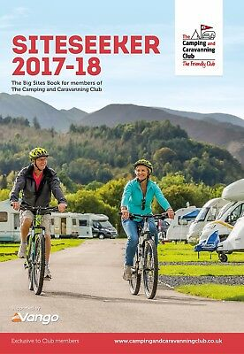 Camping and Caravanning Club Siteseeker Book 17/18 (Formally YBSB)