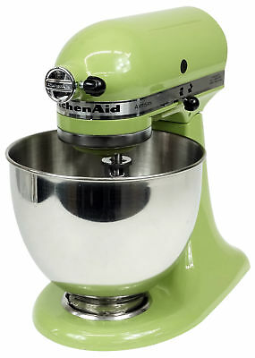 kitchenaid artisan stand mixer almond cream picclick uk. Black Bedroom Furniture Sets. Home Design Ideas