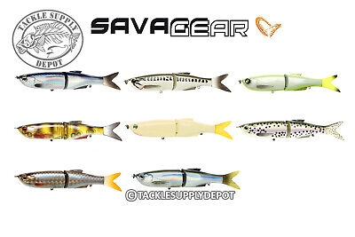 Savage Gear 3D Jointed Glide Swimmer Glidebait Swimbait 6.5in 1-3/4oz - Pick