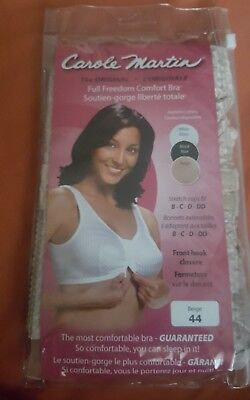 2ee66b7973 Carole Martin Women s Full-Freedom Comfort Bra Beige chest size 40 new  34