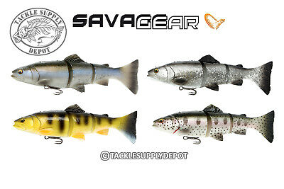 Savage Gear 3D Trout Perch Swimbait  Line Thru Floating 6in 1oz - Pick