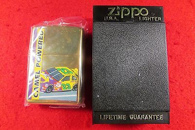 "Zippo Camel Powered Lighter Nascar ""23"""