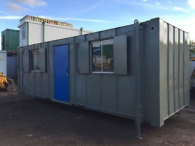 Site Office Container 24x8 Portable Anti Vandal Steel (More Available)